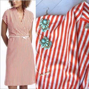 Anthro Saturday Sunday cabana style orange dress